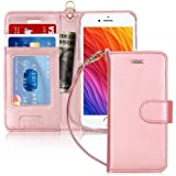 """FYY Case for iPhone 8/iPhone 7/iPhone SE 2020 4.7"""",[Kickstand Feature] Luxury PU Leather Wallet Case Flip Folio Cover with [C"""