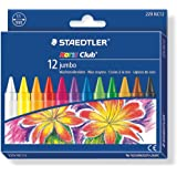 STAEDTLER Noris Club Jumbo Crayon 229 NC12, 12 Colours