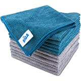 "MR.SIGA Microfibre Cleaning Cloth, Pack of 12, Size: 15.7"" x 15.7"""