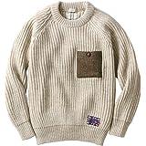 [ペレグリン/PEREGRINE] セーター 英国製 無染色 メンズ