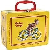 Curious George Tin Keepsake Box with Latch