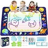 Betheaces Aqua Magic Doodle Mat - Extra Large Water Drawing Mat Toddler Toys Gifts Painting Writing Color Mat Kids Toys for B