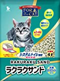 新東北化学工業 猫砂 フォーキャットラクラクサンド 4L