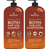 Hair Growth Shampoo Conditioner Set - An Anti Hair Loss Shampoo and Conditioner with 14 DHT blockers to fight Hair Loss For M