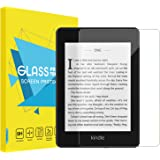 MoKo Compatible With All-new Kindle Paperwhite 2018 Screen Protector, [Anti-Scratch] 9H Hardness High Clear Tempered Glass Fi