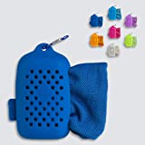 Journext Magic Cooling Towel for Sports, Travel, Beach, Gym, Yoga and More, Instant Cooling Effect, Soft, Reusable
