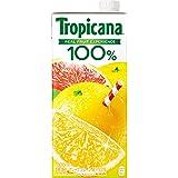 トロピカーナ 100% グレープフルーツ 1000ml LLスリム ×6本