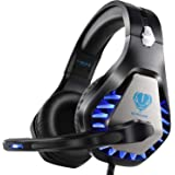 ENVEL Noise Cancelling Gaming Headset with 7.1 Surround Sound Stereo for PS4, Xbox One with Noise Cancelling Mic Omnidirectio