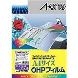 【Amazon.co.jp限定】 エーワン OHPフィルム ペンライト キンブレ インクジェット用 ノーカット 2707…