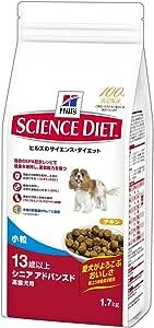 ヒルズのサイエンス・ダイエット シニアアドバンスド チキン 小粒 高齢犬用 13歳以上 1.7kg [ドッグフード]