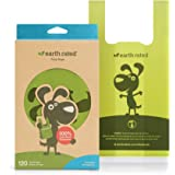 Earth Rated Poop Bags, Dog Waste Bags with Easy Tie Handles, Unscented, Completely Leak-Proof, Fits Standard Sized Cat Litter