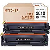 MYTONER Compatible Toner Cartridge Replacement for HP 201X CF400X for HP Color Laserjet Pro MFP M277dw M277n M277c6 M277 M252