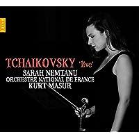 チャイコフスキー : ヴァイオリン協奏曲ニ長調Op.35 | 弦楽六重奏曲ニ短調Op.70「フィレンツェの想い出」 (TCHAIKOVSKY 'live' (Violin Concerto) / Sarah Nemtanu , Orchestre National de France , Kurt Masur) [輸入盤]