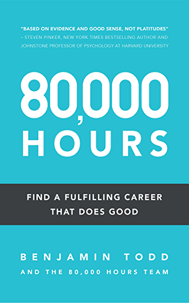 Amazon   80, 000 Hours: Find a fulfilling career that does good ...