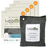 MOSO NATURAL: The Original Air Purifying Bag. for Cars, Closets, Bathrooms, Pet Areas. an Unscented, Chemical-Free Odor Elimi