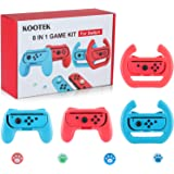 Kootek Controller Grips for Nintendo Switch Joy-Con and Controller Racing Wheel Compatible with the Left & Right N-S Joy-Pads
