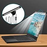 Aigitalモニターライトノートパソコン専用, 光反射防止目に優しいクランプライト,USB給電LED バーライト,3種色温度 10段階輝度 デスクライト, クリップ式ラップトップライト,スペース節約PC作業/残業/在宅勤務専用