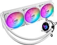 ASUS Aura Sync搭載 オールインワン CPUクーラー ROG STRIX LC 360 RGB WHITE EDITION