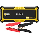 GOOLOO 4000A Peak SuperSafe Car Jump Starter (All Gas, up to 10.0L Diesel Engine) 12V Auto Battery Jumper Booster with USB Qu