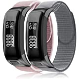 Songsier Compatible Garmin Vivosmart HR Replacement Bands, Nylon Bracelet Sport Wristband Strap Replacement Accessories with