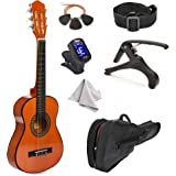 "38"" Wood Guitar With Case and Accessories for Kids/Boys/Girls/Teens/Beginners (38"" Natural)"