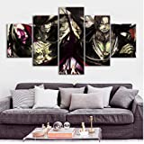 Anime Poster Wall Stickers for Home Decor HD Wallpaper One Piece Oil Painting on Canvas Wall Art Murals no framed 20x35x2 20x