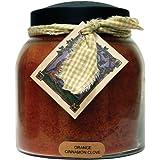 A Cheerful Giver Orange Cinnamon Clove 34 oz. Papa Jar Candle