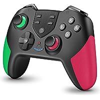 Switch コントローラー 【進化版】 HD振動 無線 switch プロコン Bluetooth 接続 遅延なし 高…