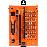Showpin 45in1 Mini Precision Screwdriver Set with Case with Tweezer Handle and Small Torx Hex Bits,Professional Repair Tool K