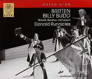 F ブリテン:歌劇「ビリー・バッド」 (3CD) / Britten Billy Budd