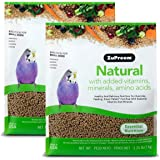 ZuPreem Natural Bird Food for Small Birds, 2.25 lb Bag (2-Pack)   Made in The USA, Essential Vitamins, Minerals, Amino Acids