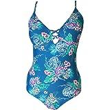 Sunsea Ladies one Piece Floral Print Women's Swim wear Beach Suit