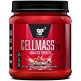 BSN CELLMASS 2.0 Post Workout Recovery with BCAA, Creatine, & Glutamine - Keto Friendly - Watermelon, (25 Servings)