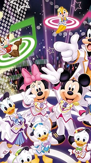 ディズニー  iPhone/Androidスマホ壁紙(540×960)-1 - 『声の王子様』ミッキーとミニー と仲間たち