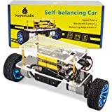 KEYESTUDIO Self-Balancing Robot for Arduino Project, Automatic and Bluetooth Control Mode, Two Strong DC Motor and a Shield w