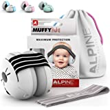 Alpine Muffy Baby Ear Protection – Baby Ear Muffs – Noise Protection for Babies and Toddlers up to 36 Months – Comfortable In