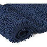 H.VERSAILTEX 20x32 inch Oversize Bathroom Rug Shag Shower Mat Soft Texture Floor Mat Machine-Washable Bath mats with Water Ab