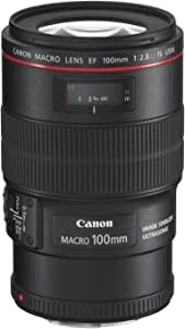 Canon 単焦点マクロレンズ EF100mm F2.8L マクロ IS USM フルサイズ対応
