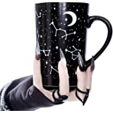 Tall Coffee Mug (Voyager) by Rogue + Wolf Witch Goth Accessories Unique Astronomy Gifts for Women Cute Christmas Mugs Hocus P