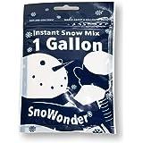 SnoWonder クラウドスライム スノーパウダー インスタントスノー フェイクスノー スノーワンダー 人工雪 (水を入れるだけ簡単) (1GALLON) 国内正規品