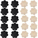 Nippleless Cover 15 Pairs Self-Adhesive Disposable Bra Gel Petals Pad Pasties