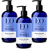 EO Hand Soap: French Lavender, 12 Ounce, 3 Count- Packaging May Vary