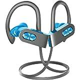 Mpow Flame Bluetooth Headphones, IPX7 Waterproof Wireless Sport Headphones, Bass+/Hi-fi Stereo/in-Ear Earphones w/Mic, 8-10 H