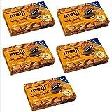明治 リッチキャラメルチョコサンド 6枚 ×5箱