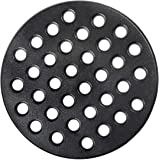 Dracarys Round cast Iron fire Grate, BBQ high Heat Charcoal Plate for Large Big Green Egg fire Grate Bottom Grate Grill Parts