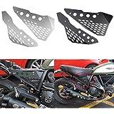 XX eコマース オートバイオートバイアクセサリーアルミサイドミッドフレームカバーパネルプロテクターガードフェアリング…