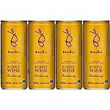 バロークスプレミアム・バブリー シャルドネ 白 スパークリング 缶ワイン [辛口 オーストラリア 250ml×4本 ]