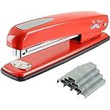Mr. Pen- Stapler with Staples, Red Stapler, Staplers for Desk, Staplers Office, Office Stapler, Desk Stapler, Metal Stapler,
