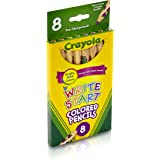 Crayola Write-Start Coloured Pencils, 8 Colours, Jumbo Hexagonal Grip for Little Hands and a Big Imagination!