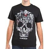 WALKING DEAD ウォーキングデッド (最終シーズン米8月放送) - SKULL MONTAGE/Tシャツ/メンズ 【公式/オフィシャル】